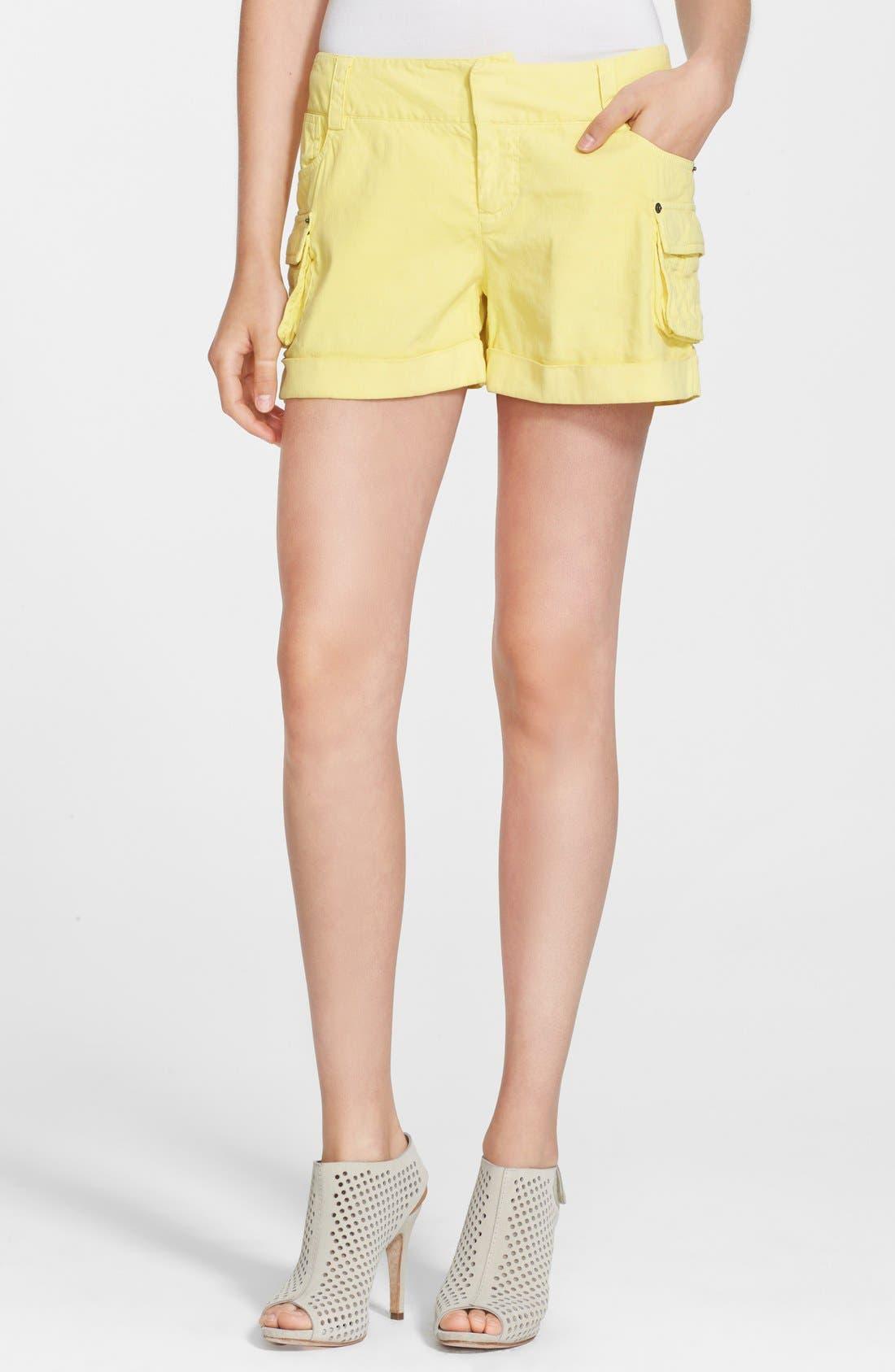 Main Image - Alice + Olivia Cady Cargo Shorts