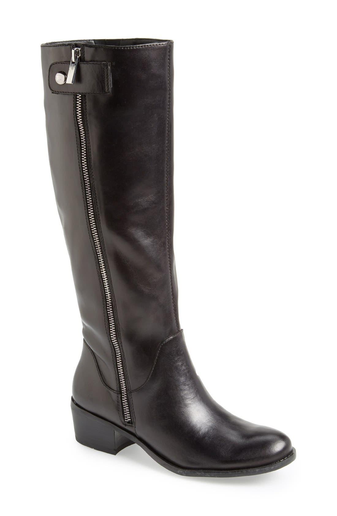 Main Image - Sole Society 'Bria' Leather Knee High Boot (Women)