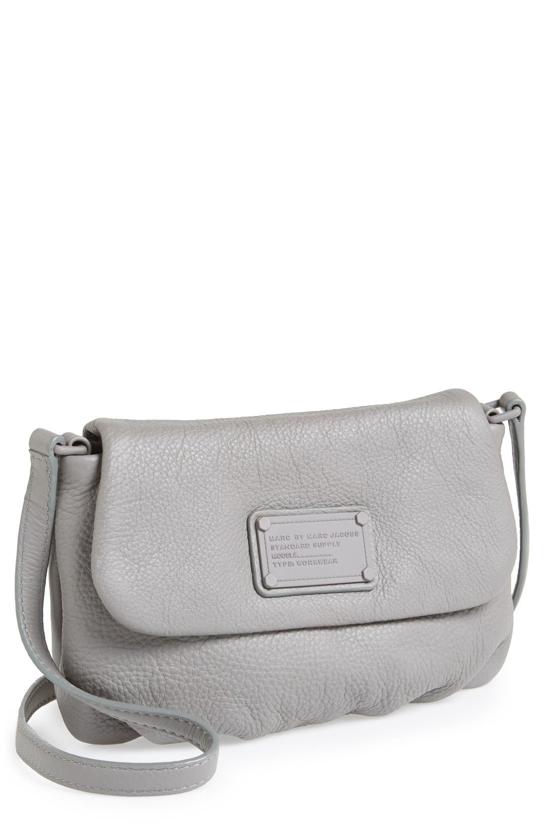 Alternate Image 1 Selected - MARC BY MARC JACOBS 'Electro Q - Flap Percy' Crossbody Bag