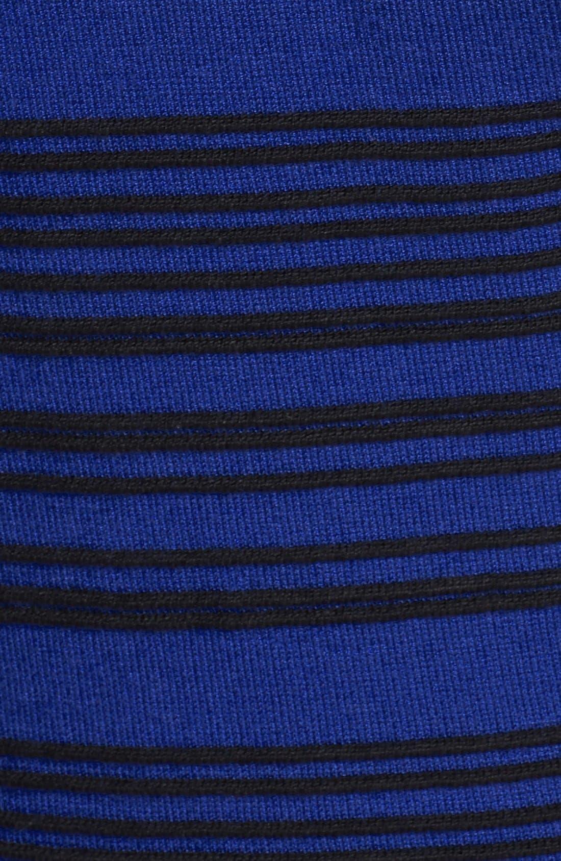 Alternate Image 4  - Taylor Dresses Ribbed Sweater Dress