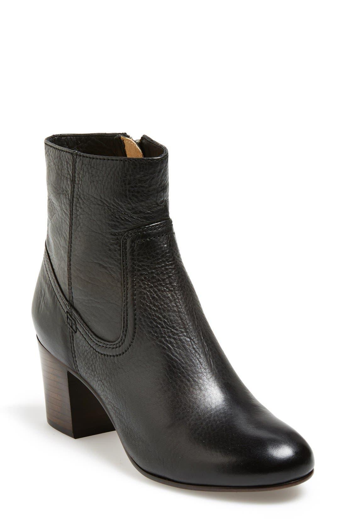 Alternate Image 1 Selected - Frye 'Stella' Zip Short Boot (Women)