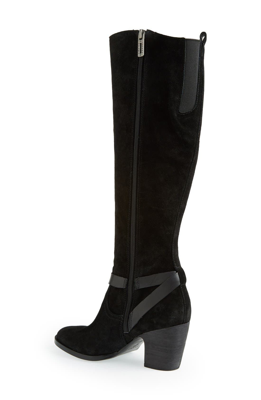 Alternate Image 3  - Ivanka Trump 'Tarrilyn' Knee High Suede Boot (Women)
