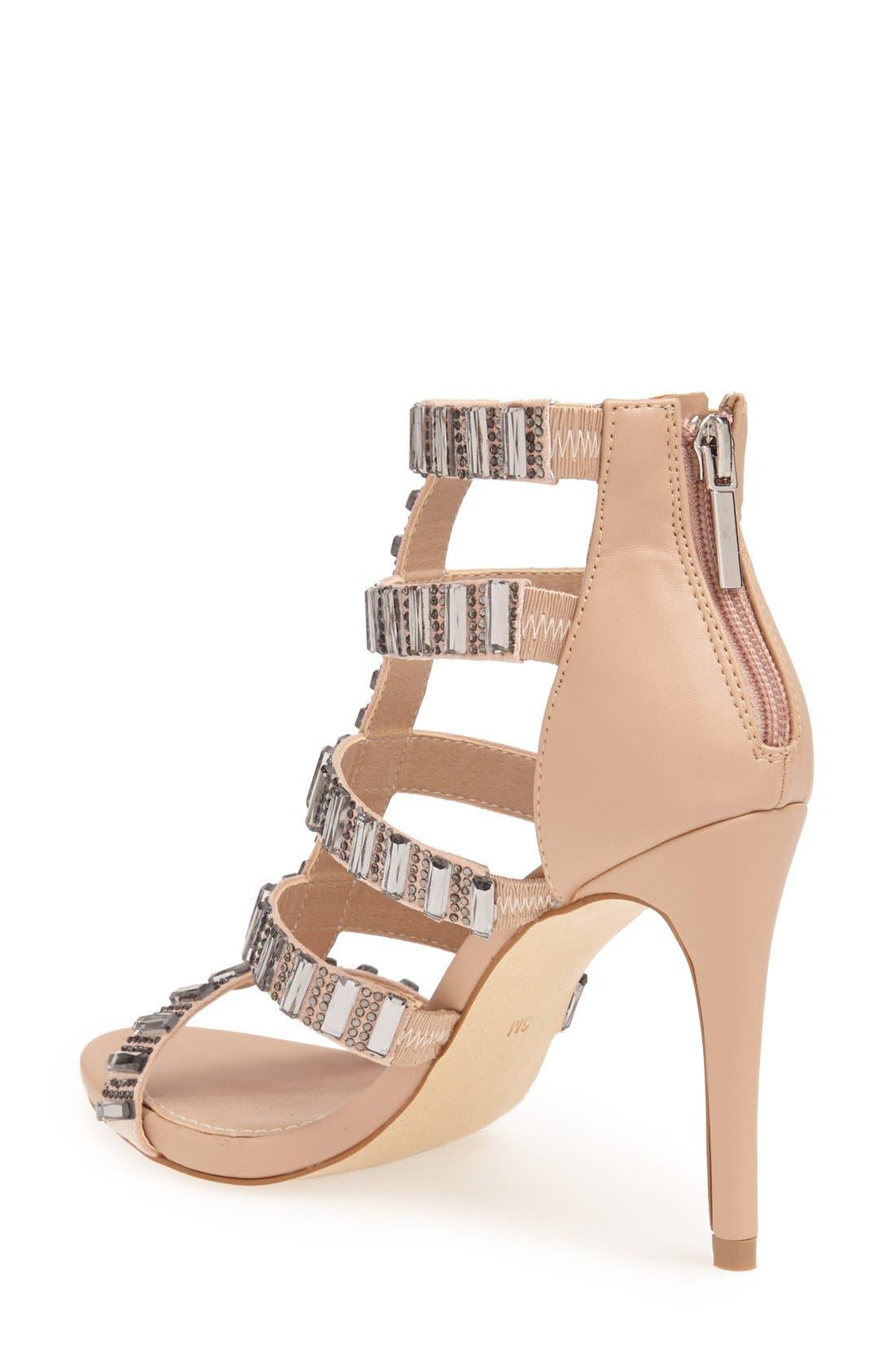 Alternate Image 2  - Steve Madden 'Famme' Crystal Sandal (Women)