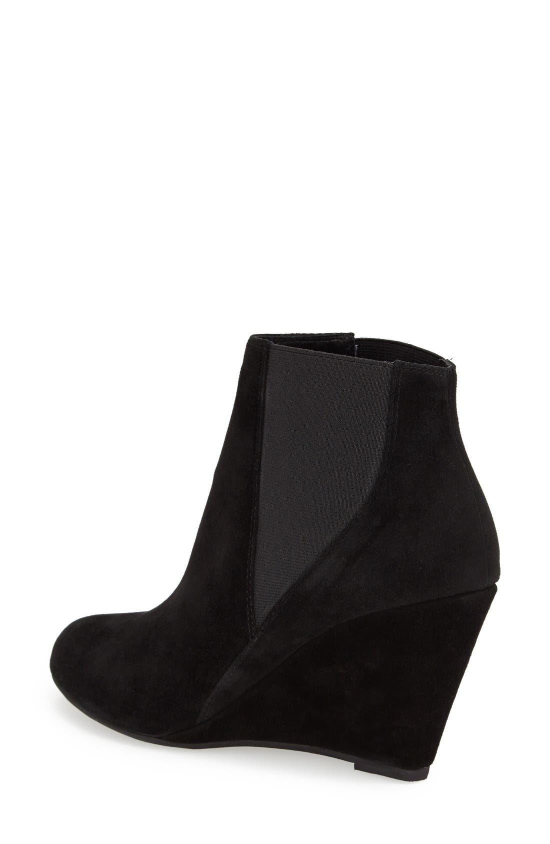 Alternate Image 2  - Jeffrey Campbell 'Wagner' Suede Chelsea Boot (Women)
