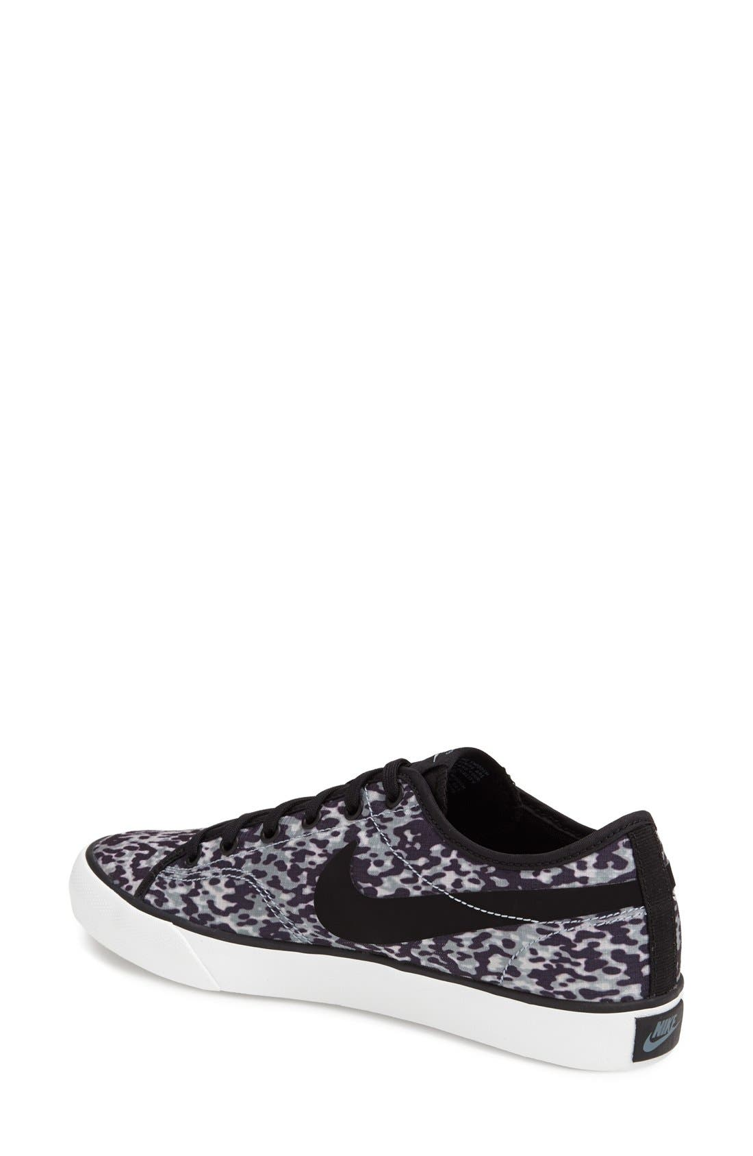 Alternate Image 2  - Nike 'Primo - Court' Printed Canvas Sneaker (Women)