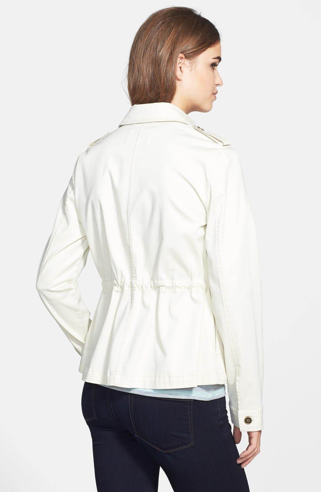 Alternate Image 2  - Two by Vince Camuto Washed Sateen Cargo Jacket