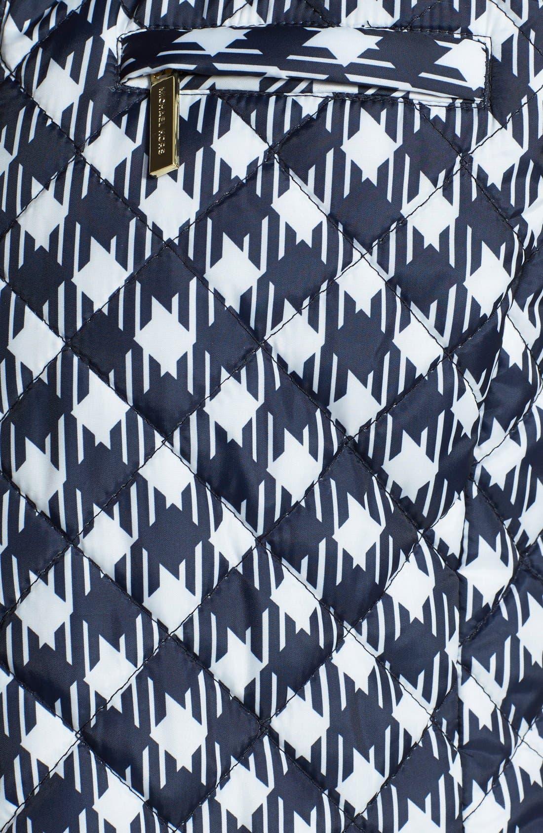 Alternate Image 3  - MICHAEL Michael Kors Print Puffer Vest (Regular & Petite)