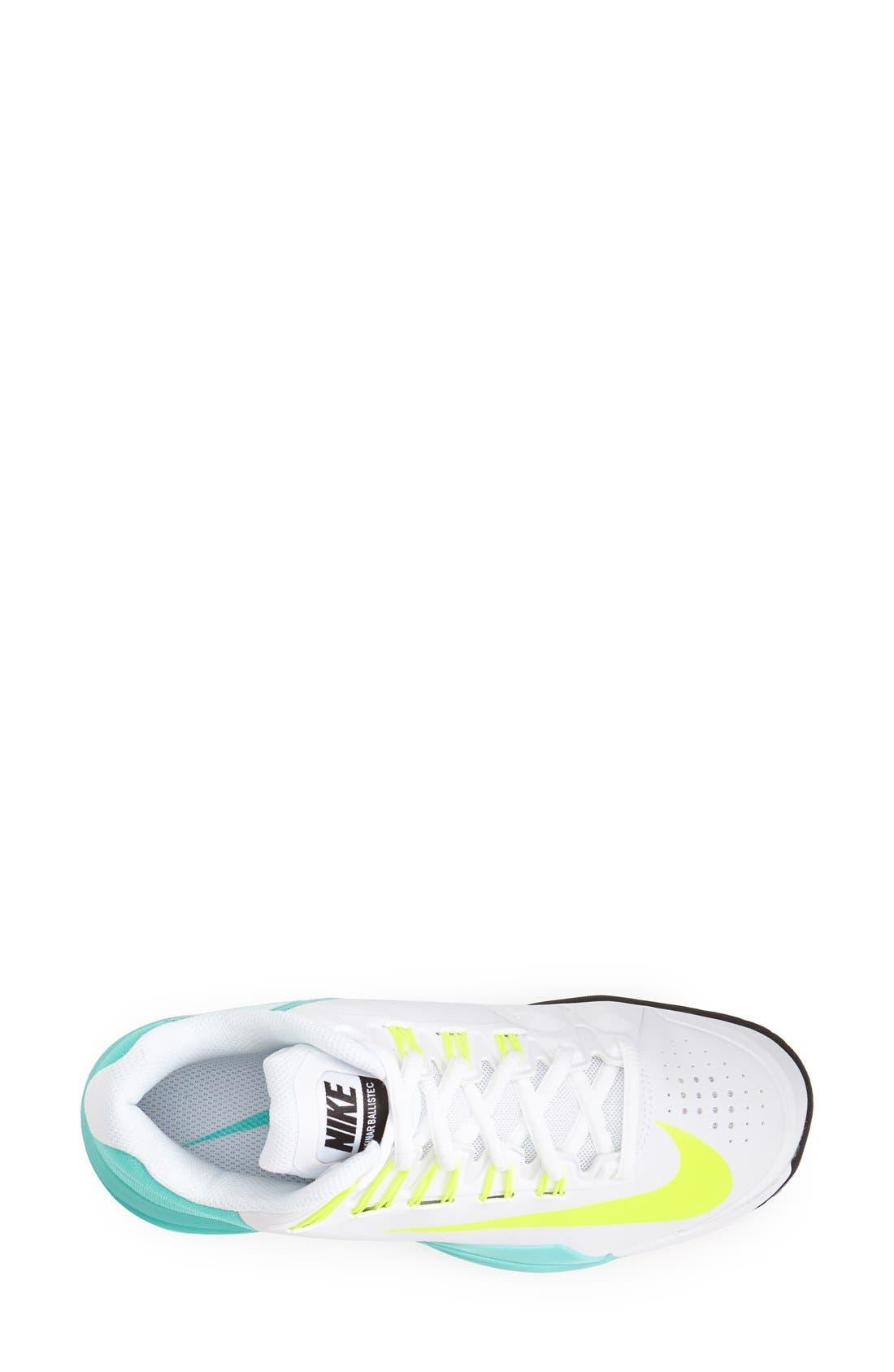 Alternate Image 3  - Nike 'Lunar Ballistec' Tennis Shoe (Women)