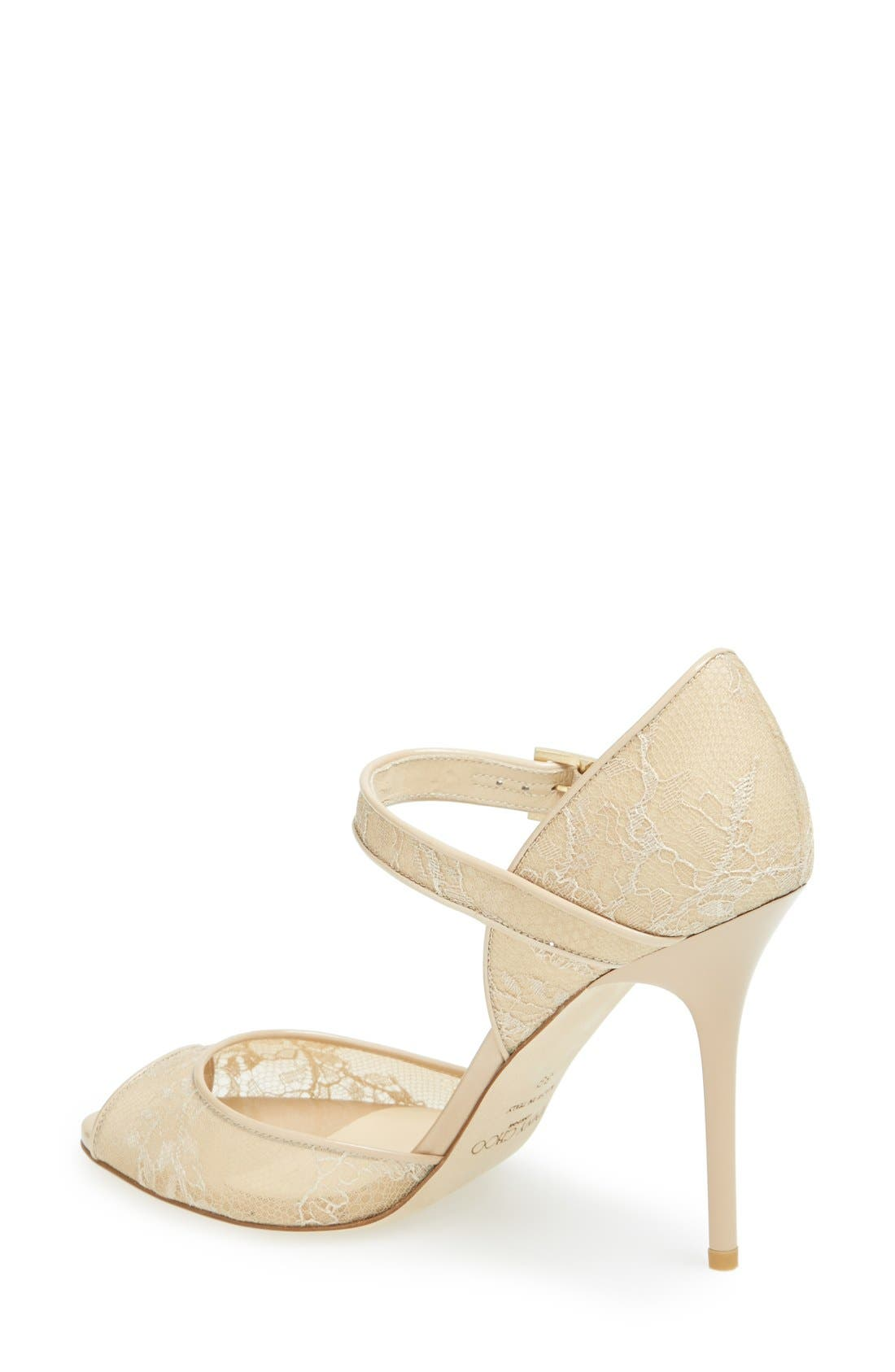 Alternate Image 2  - Jimmy Choo 'Lace' Pump (Women)