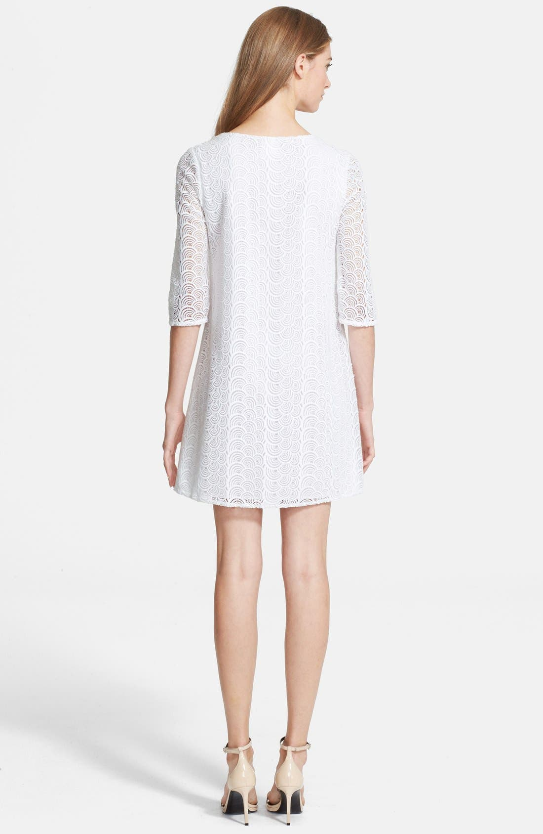 Alternate Image 2  - Diane von Furstenberg 'Martina' Lace Shift Dress