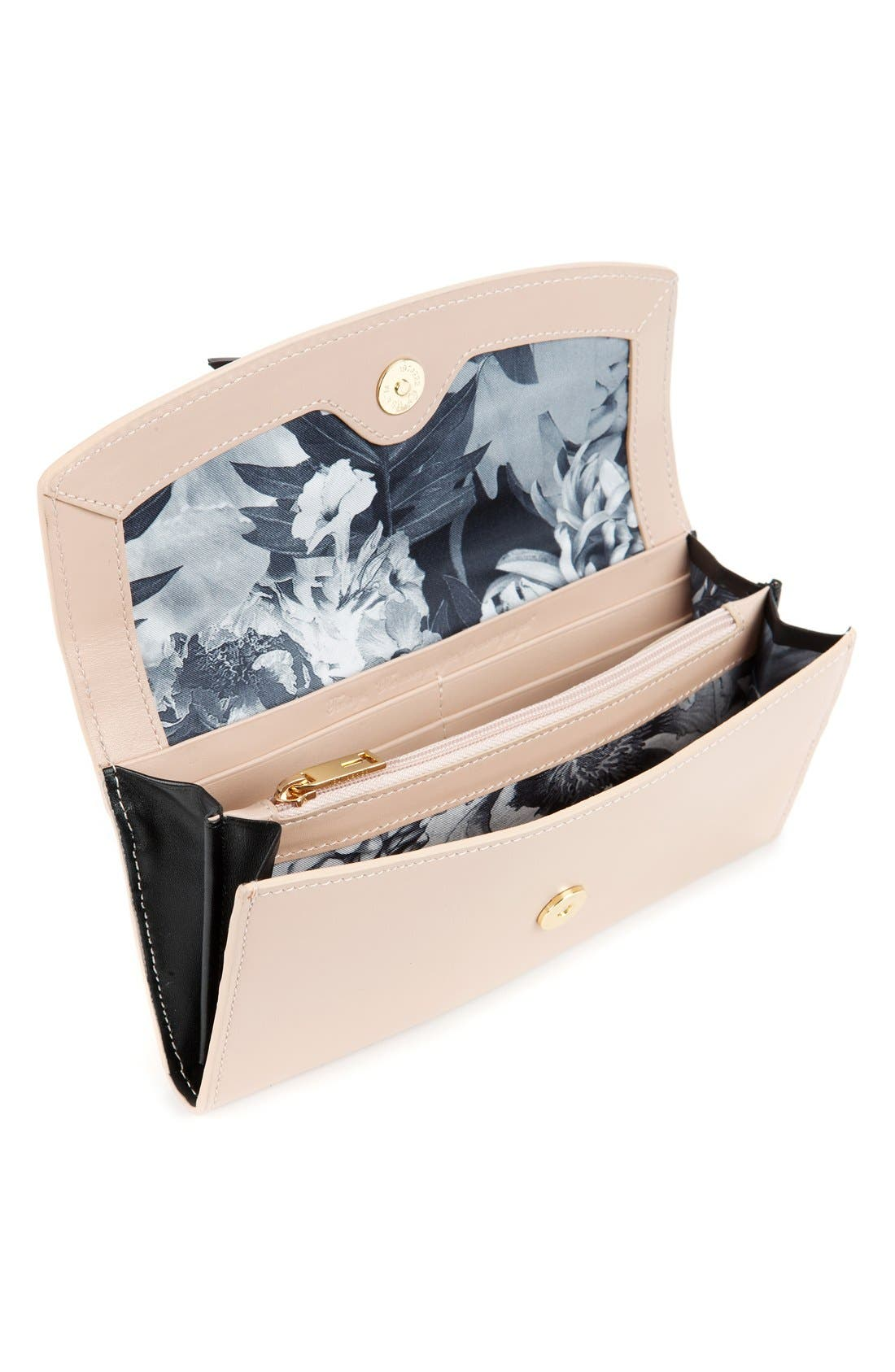 Alternate Image 2  - Ted Baker London Leather Bow Wallet
