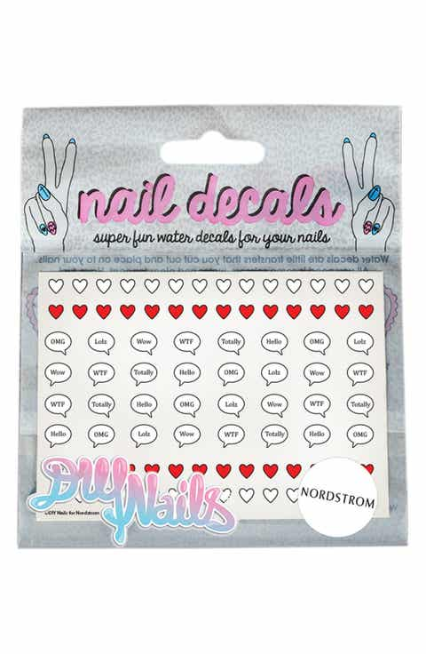 DIY Nails 'Speech Bubbles' Nail Decals (Nordstrom Exclusive)