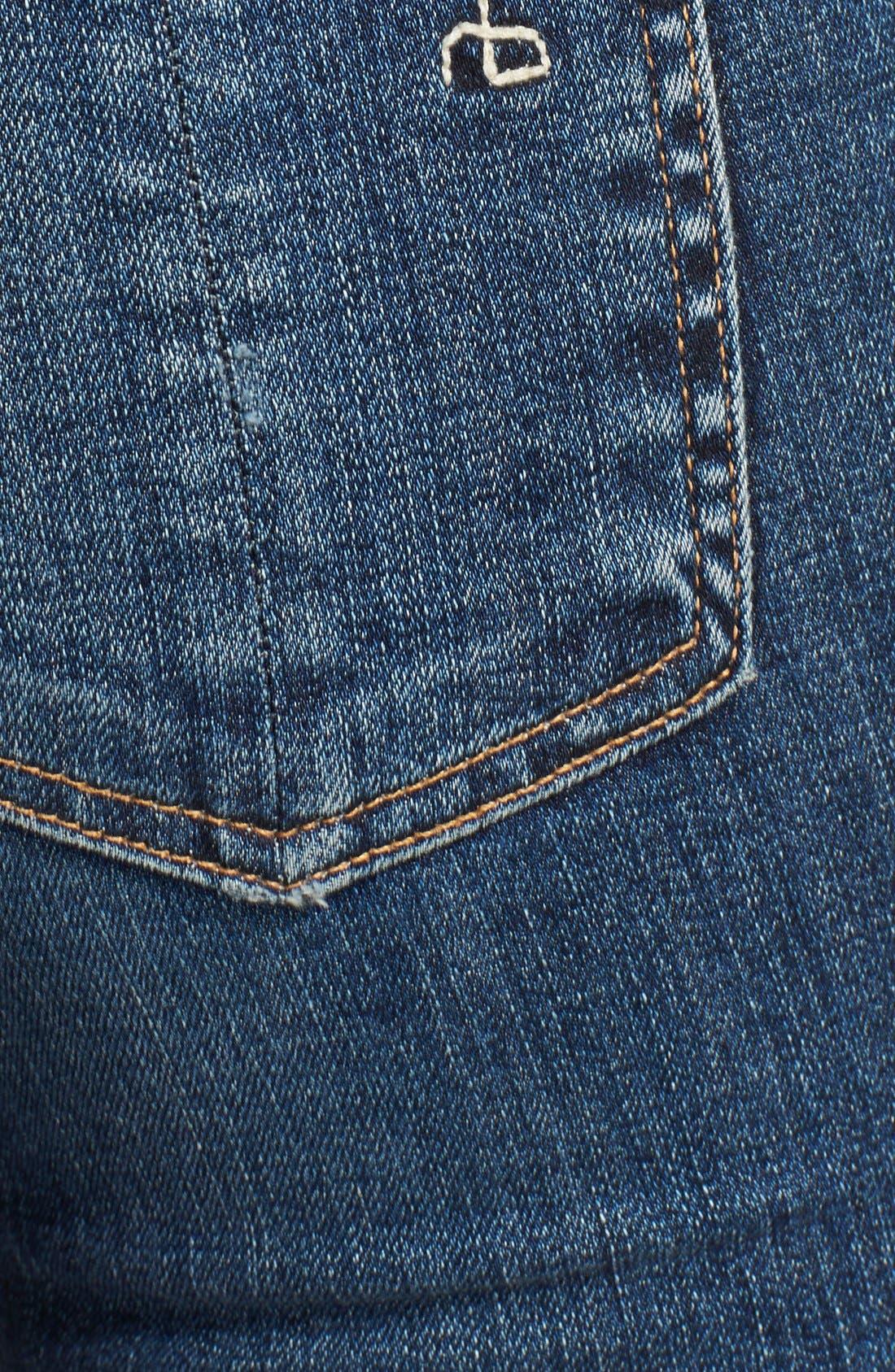 Alternate Image 3  - rag & bone/JEAN 'The Skinny' Stretch Jeans (La Paz)