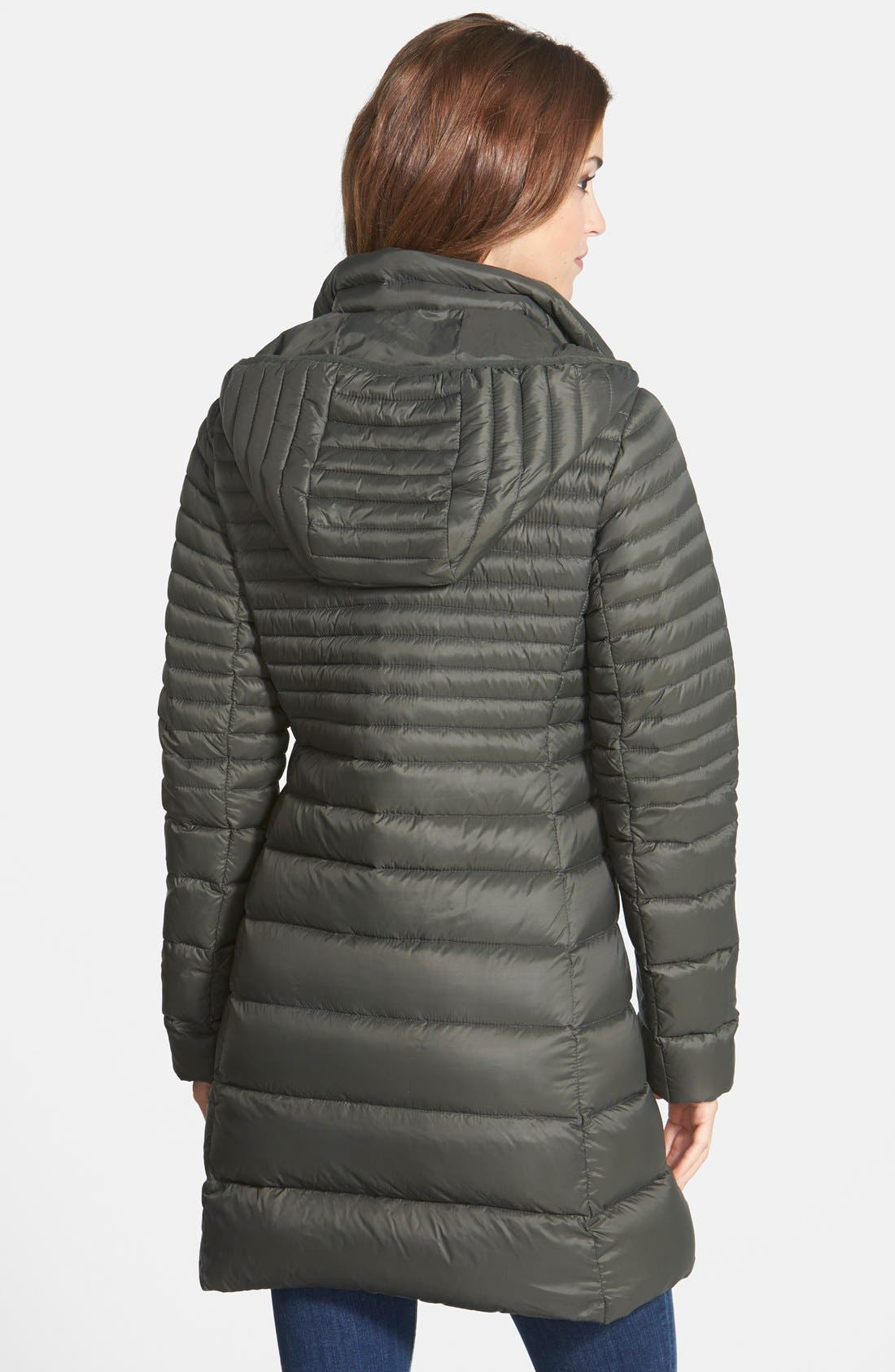 Alternate Image 3  - MICHAEL Michael Kors Packable Hooded Down Coat (Online Only)