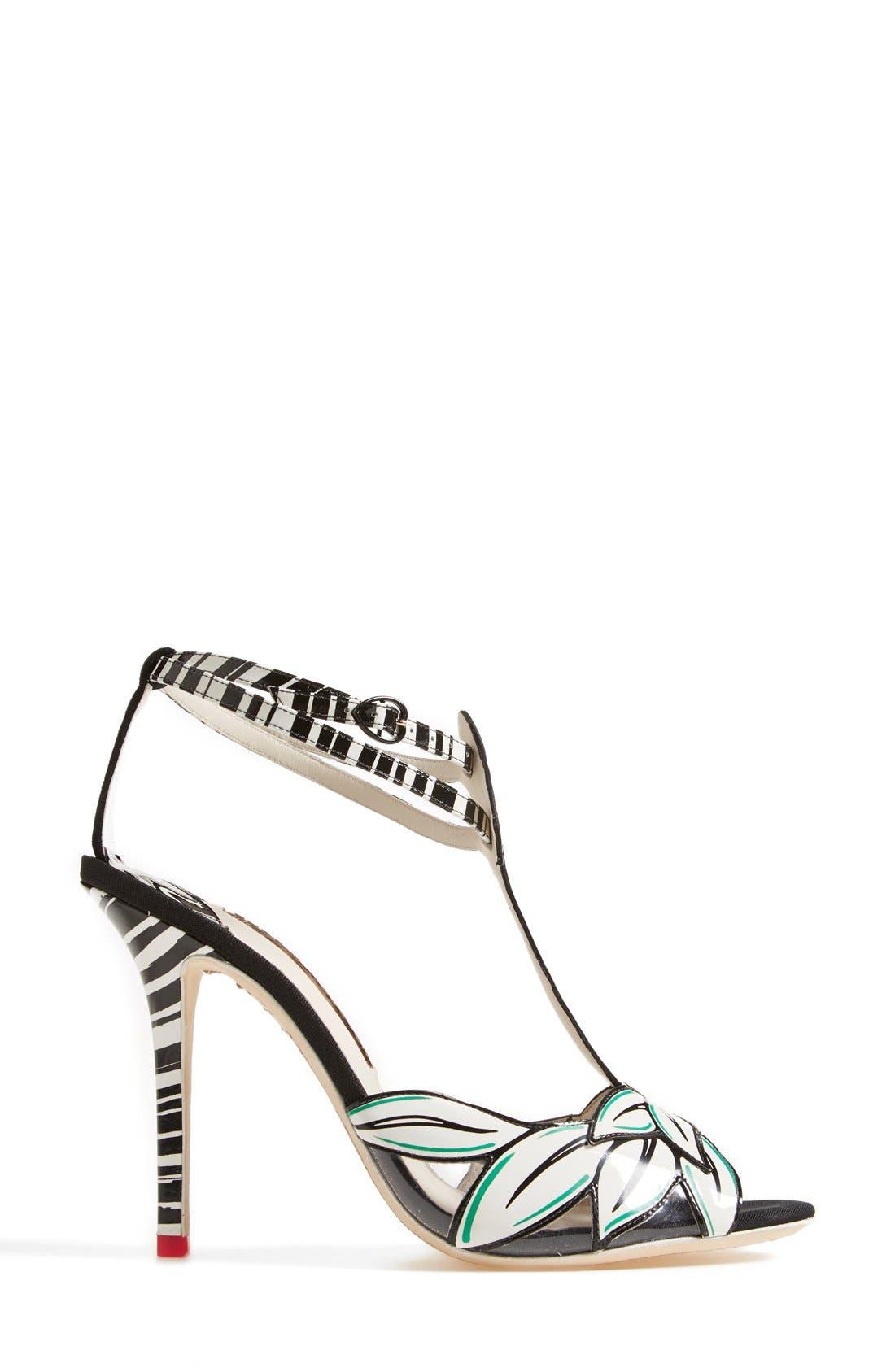 Alternate Image 4  - Sophia Webster 'Flamingo' T-Strap Leather Sandal (Women)