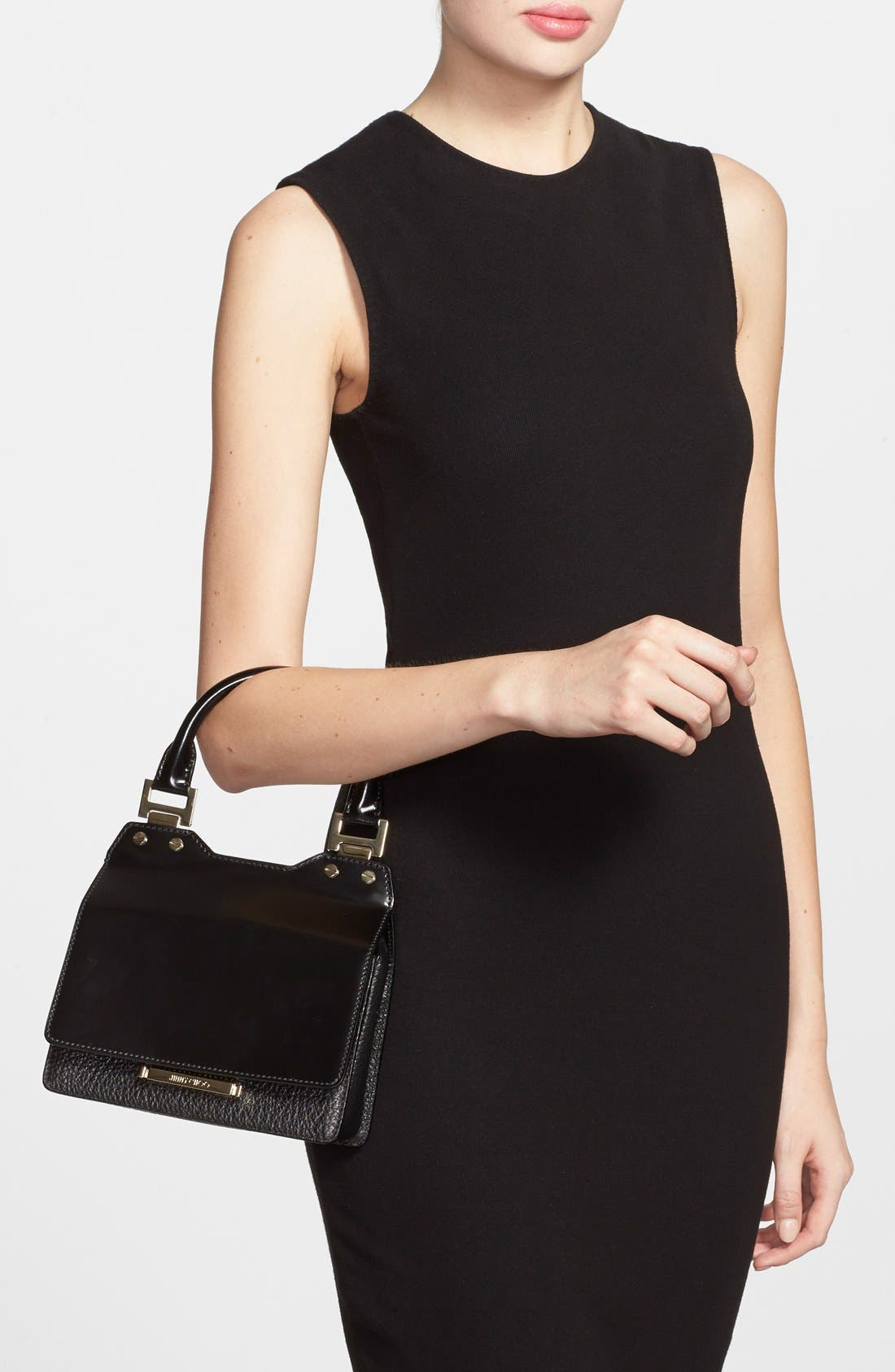 Alternate Image 2  - Jimmy Choo 'Amie' Top Handle Leather Satchel