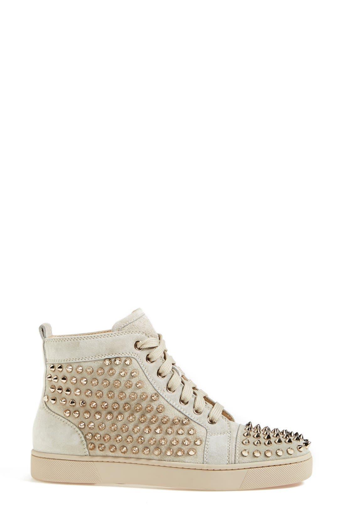 Alternate Image 4  - Christian Louboutin 'Louis' Spiked Sneaker