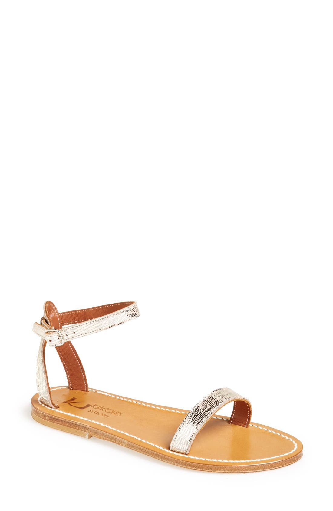 Alternate Image 1 Selected - K.Jacques St. Tropez 'Laura' Ankle Strap Sandal (Women)