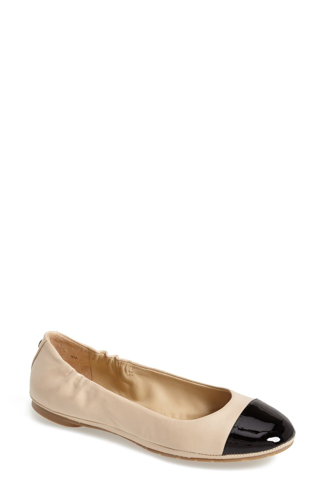 Alternate Image 1 Selected - Delman 'Maya' Skimmer Flat (Women)