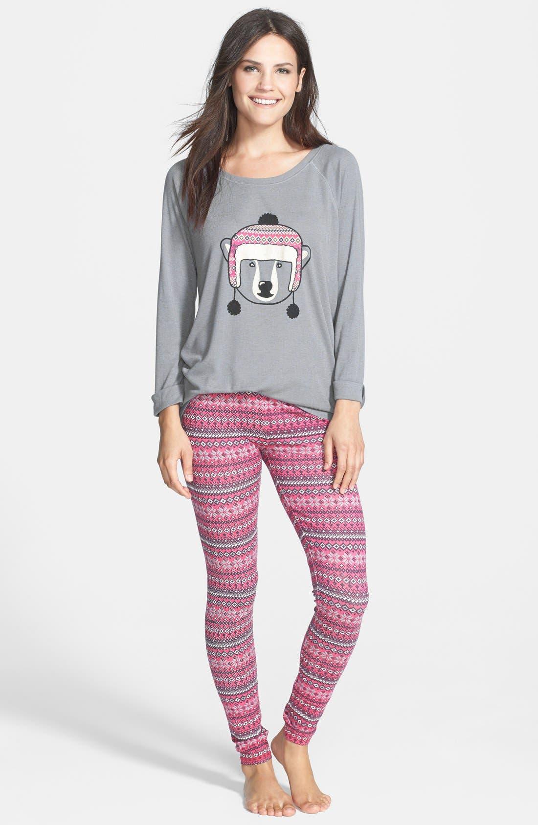 Main Image - Make + Model 'Lights Out' Pajamas