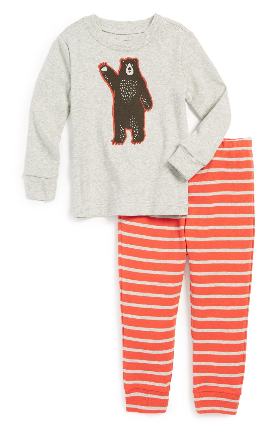Main Image - Tucker + Tate Two-Piece Fitted Pajamas (Baby Boys)