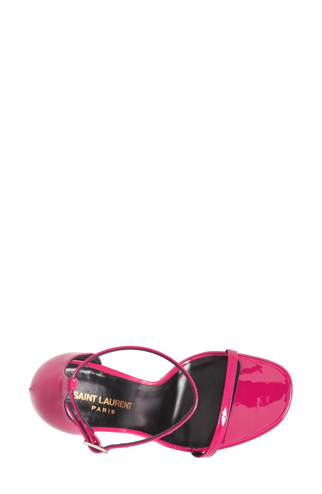 Alternate Image 3  - Saint Laurent 'Jane' Ankle Strap Leather Sandal (Women)