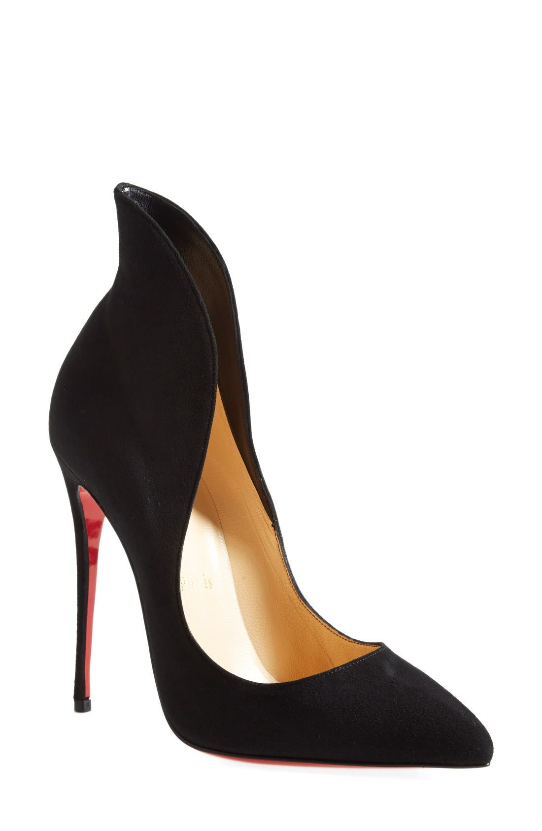 Alternate Image 1 Selected - Christian Louboutin 'Mea Culpa' Flared Pointy Toe Pump