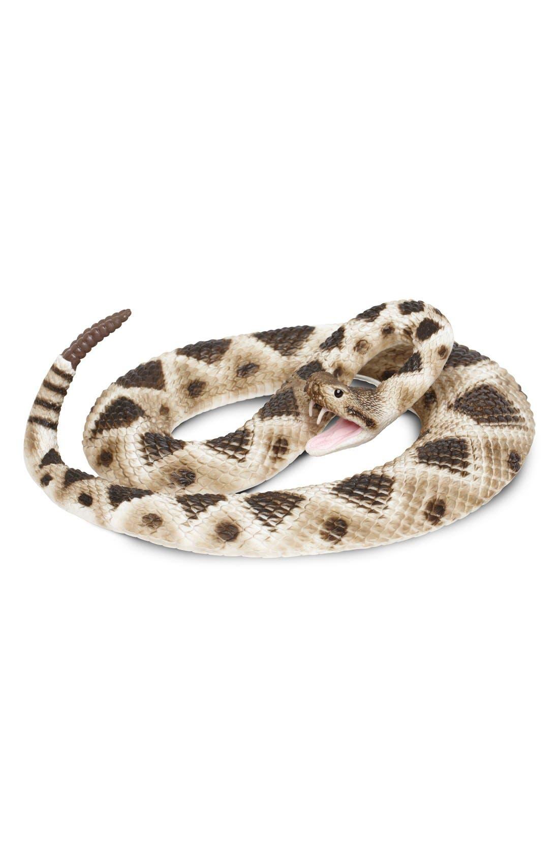 SAFARI LTD. Diamondback Rattlesnake Figurine