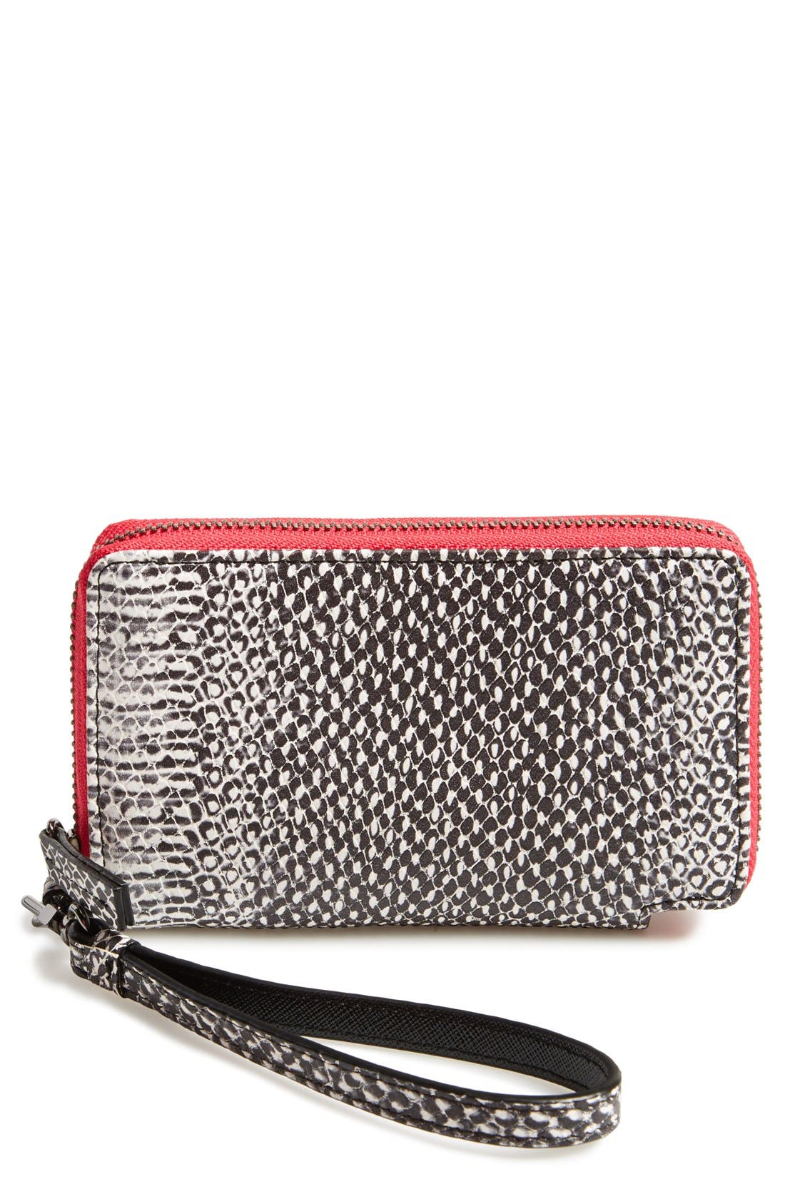 Alternate Image 1 Selected - Halogen® 'Cassie' Smartphone Wristlet