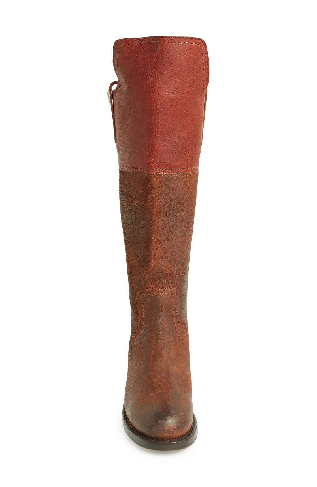 Alternate Image 3  - Frye 'Autumn Shield' Tall Suede & Leather Boot (Women)