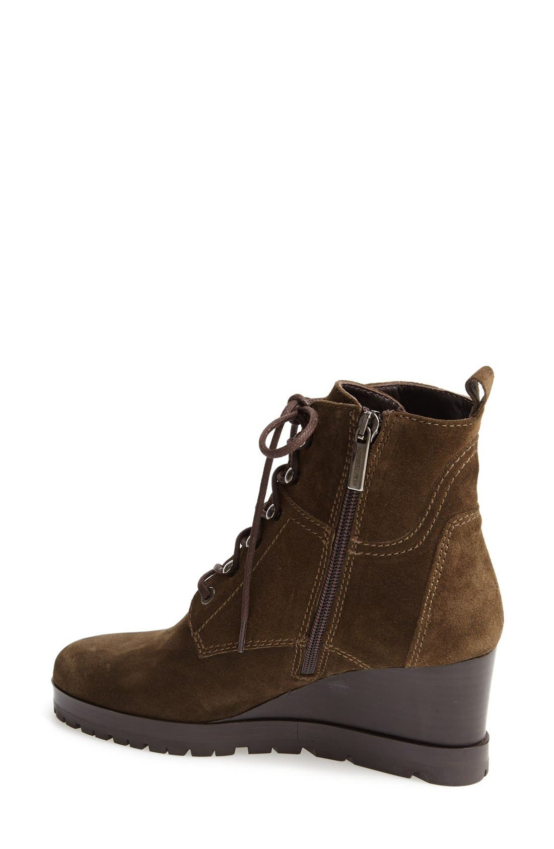 Alternate Image 2  - Aquatalia by Marvin K. 'Chance' Suede Wedge Bootie (Women)