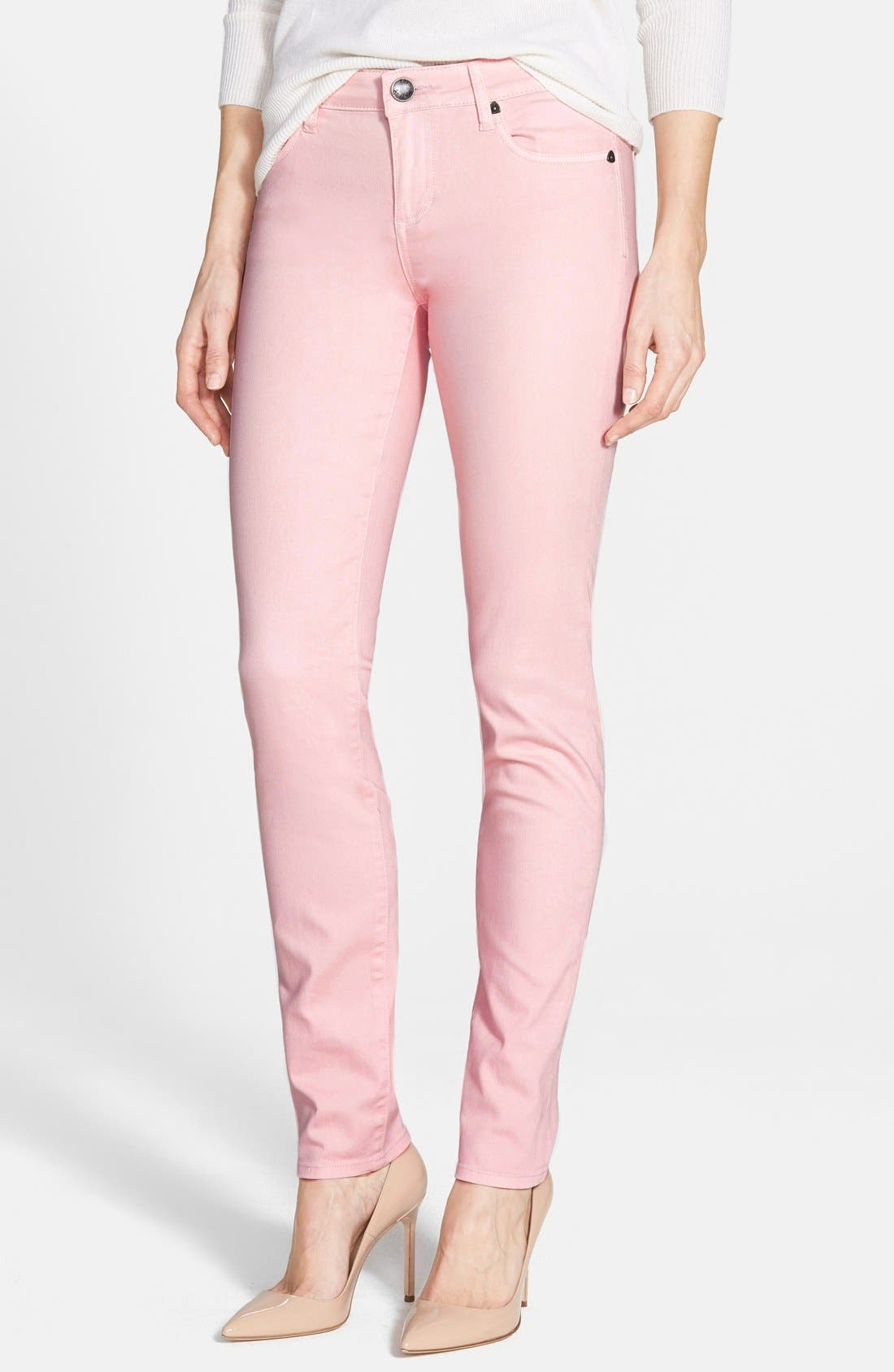 Alternate Image 1 Selected - KUT from the Kloth 'Diana' Colored Stretch Skinny Jeans
