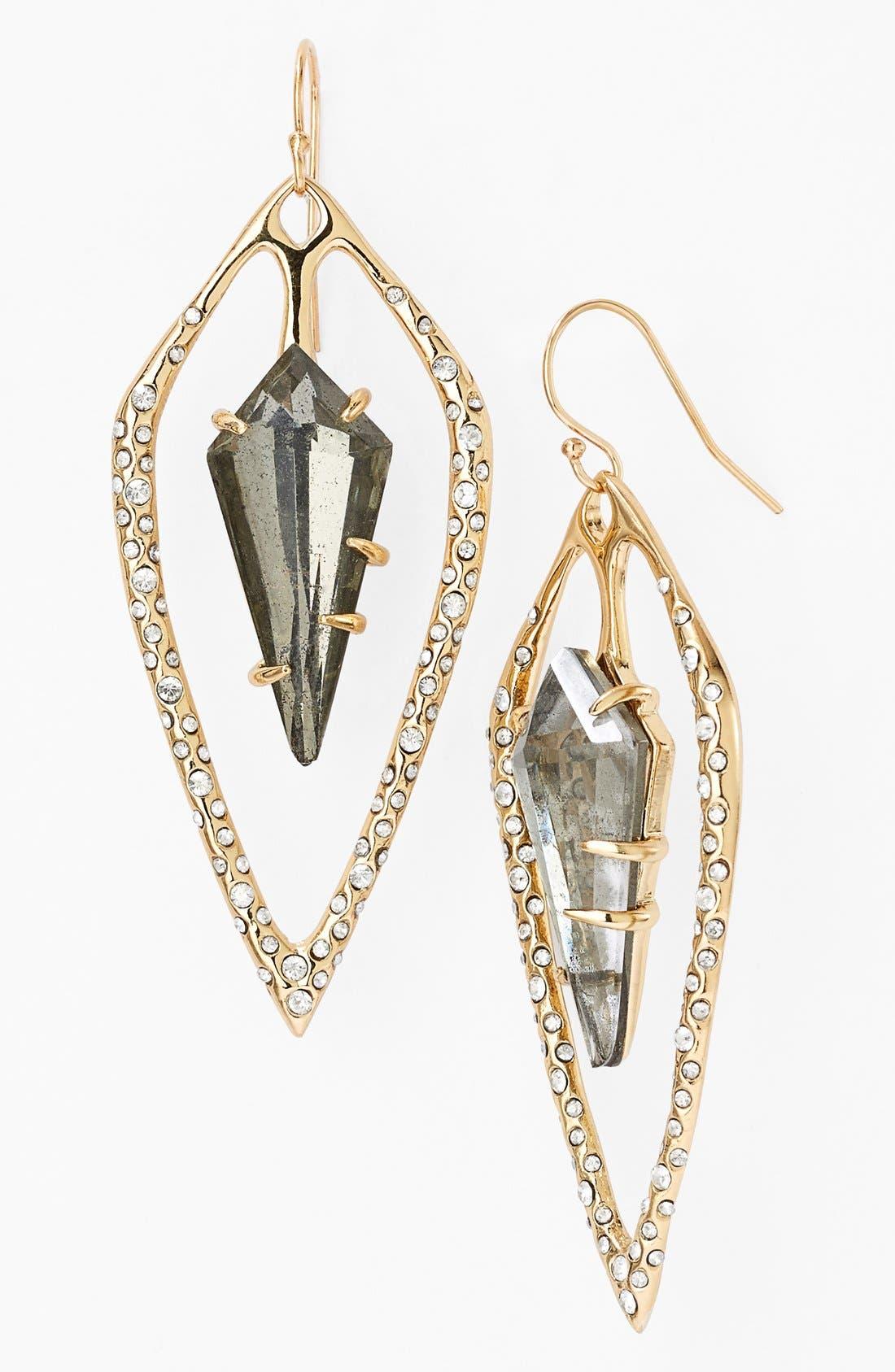 Alternate Image 1 Selected - Alexis Bittar 'Miss Havisham - Kinetic Gold' Drop Earrings