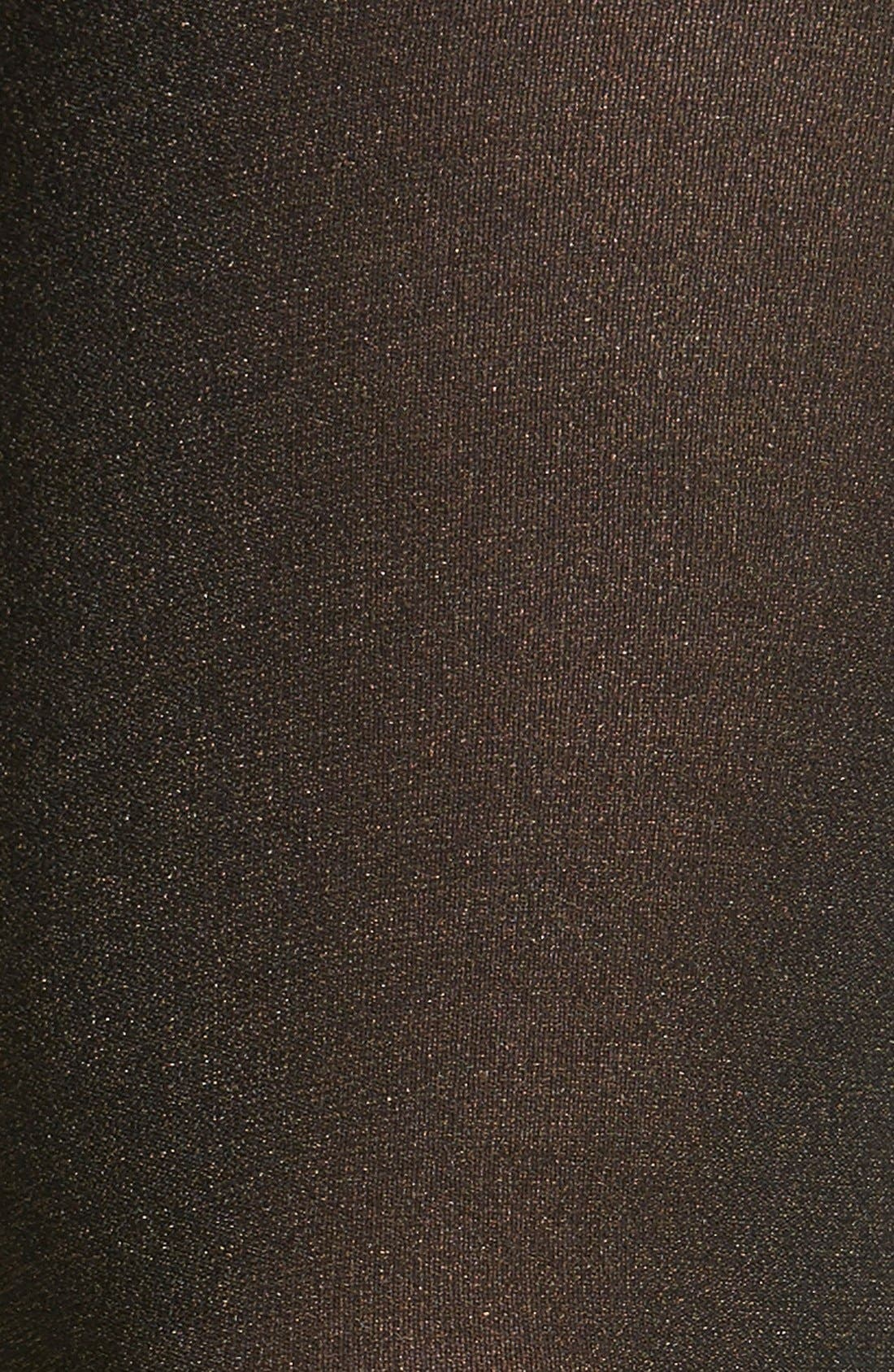 Alternate Image 2  - Donna Karan 'Blackened Shimmer' Tights