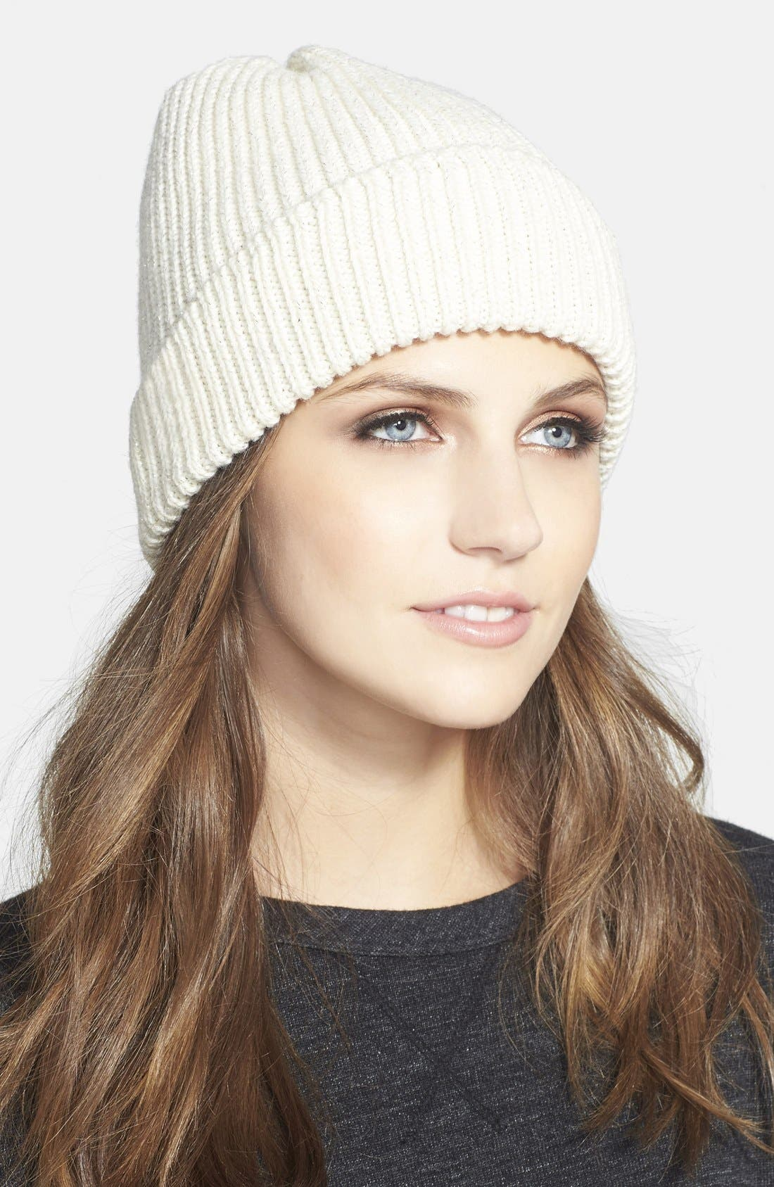 Alternate Image 1 Selected - UGG® Australia Ribbed Knit Beanie