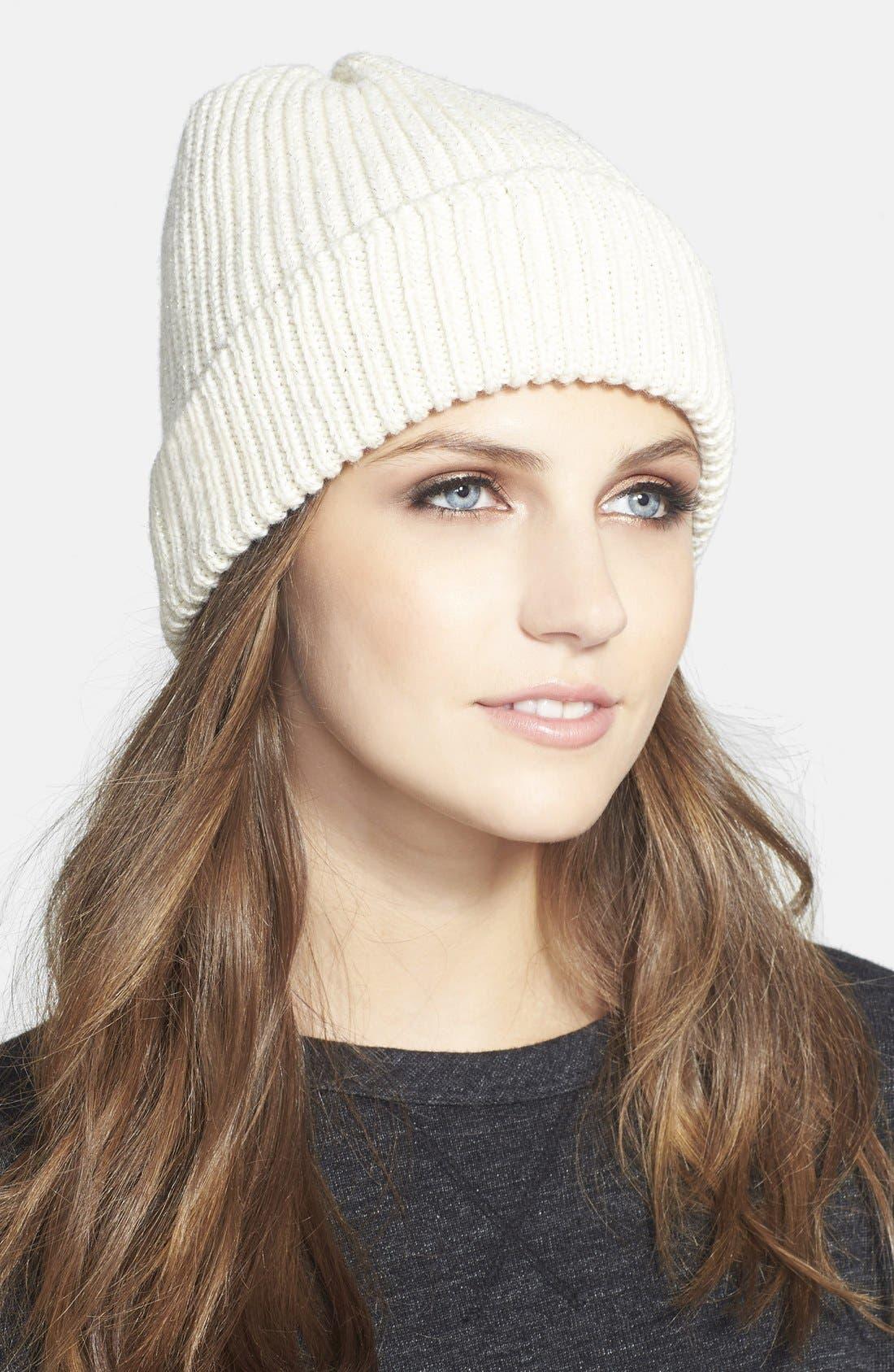 Main Image - UGG® Australia Ribbed Knit Beanie