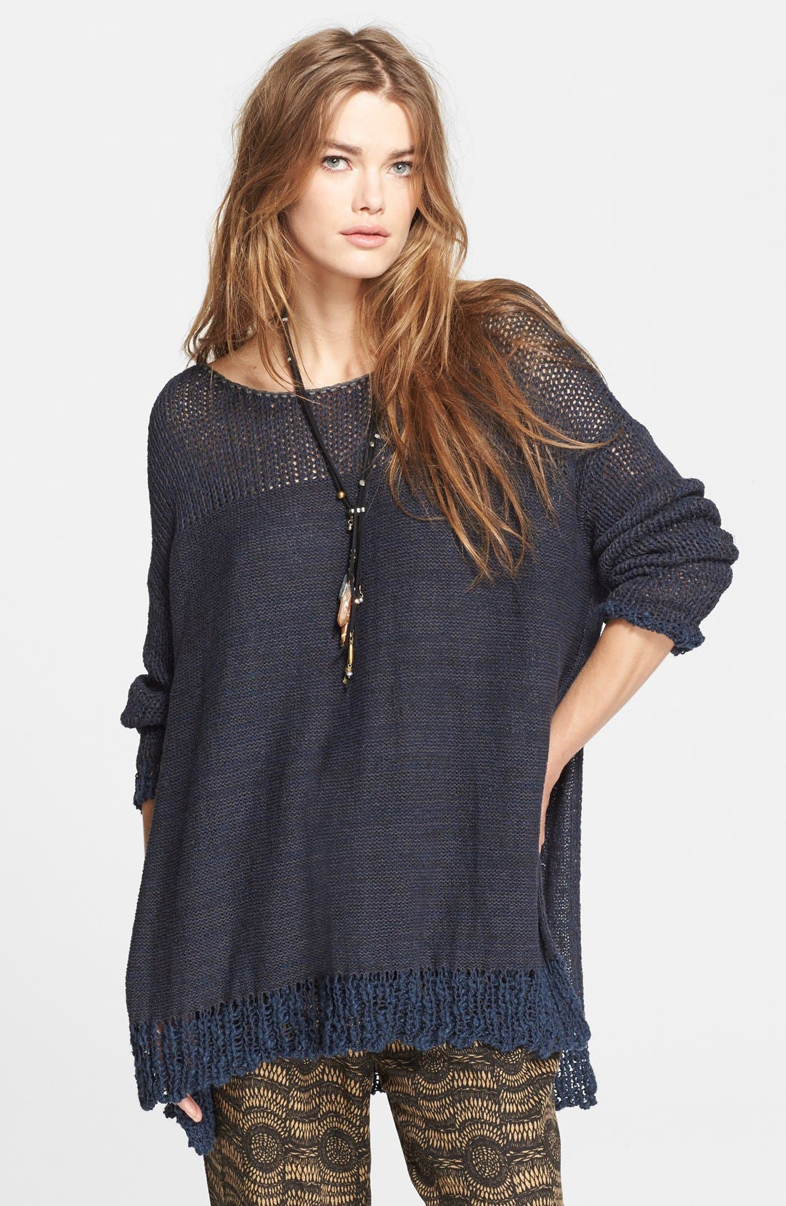 Alternate Image 1 Selected - Free People 'Haiku' Pullover Sweater