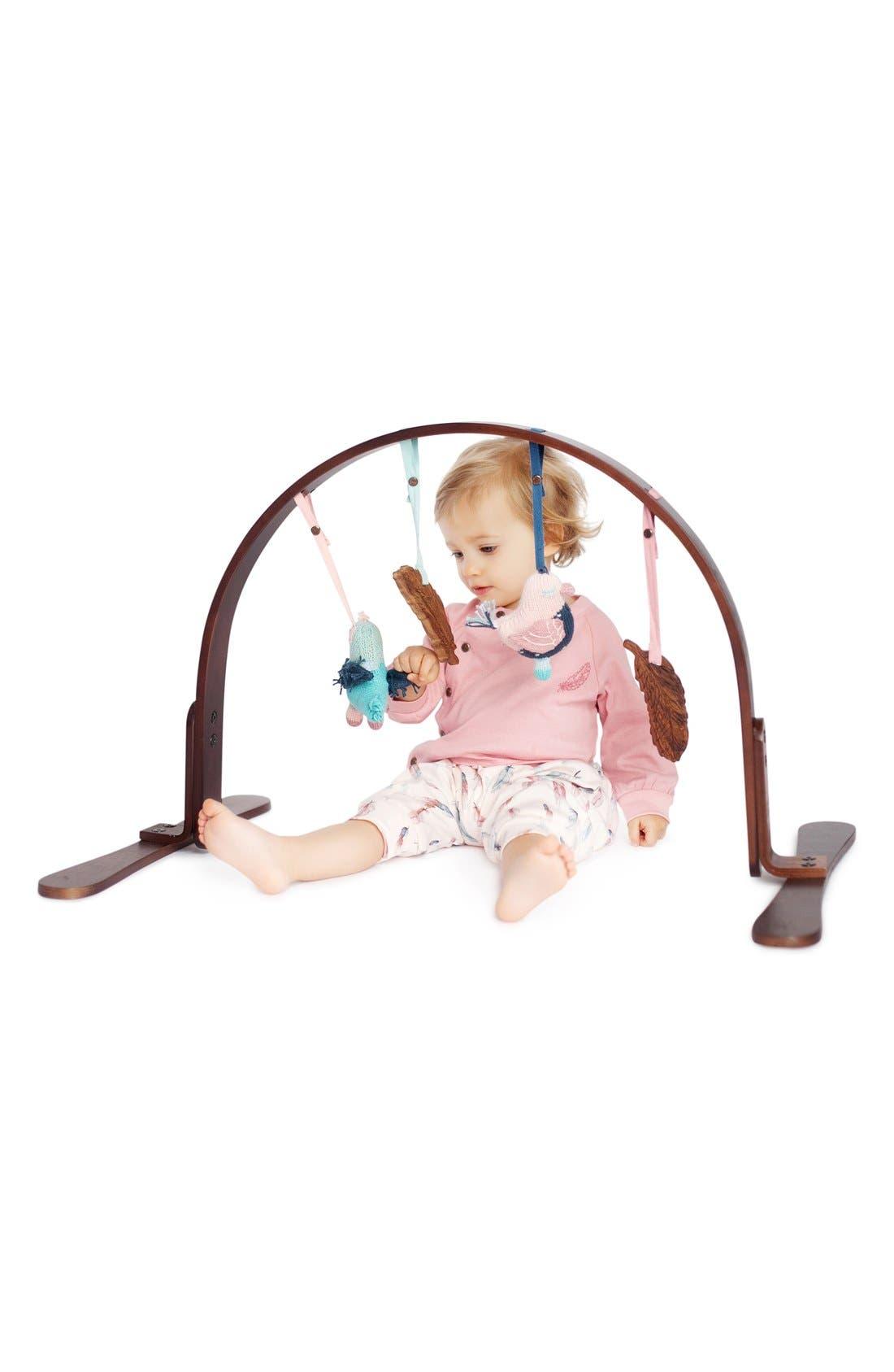 Alternate Image 3  - Finn + Emma Wooden Jungle Play Gym