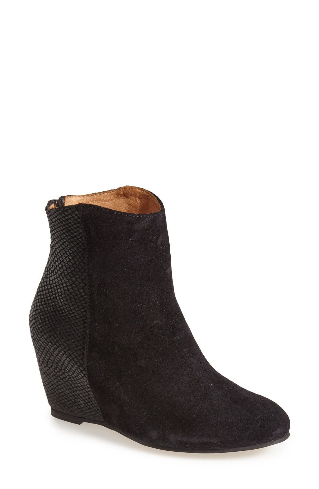 Alternate Image 1 Selected - H by Hudson 'Sefton' Hidden Wedge Bootie (Women)