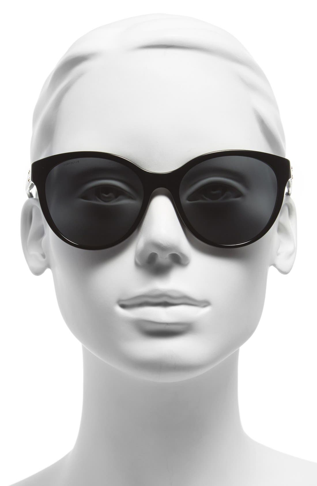 Alternate Image 2  - Versace 57mm Retro Sunglasses