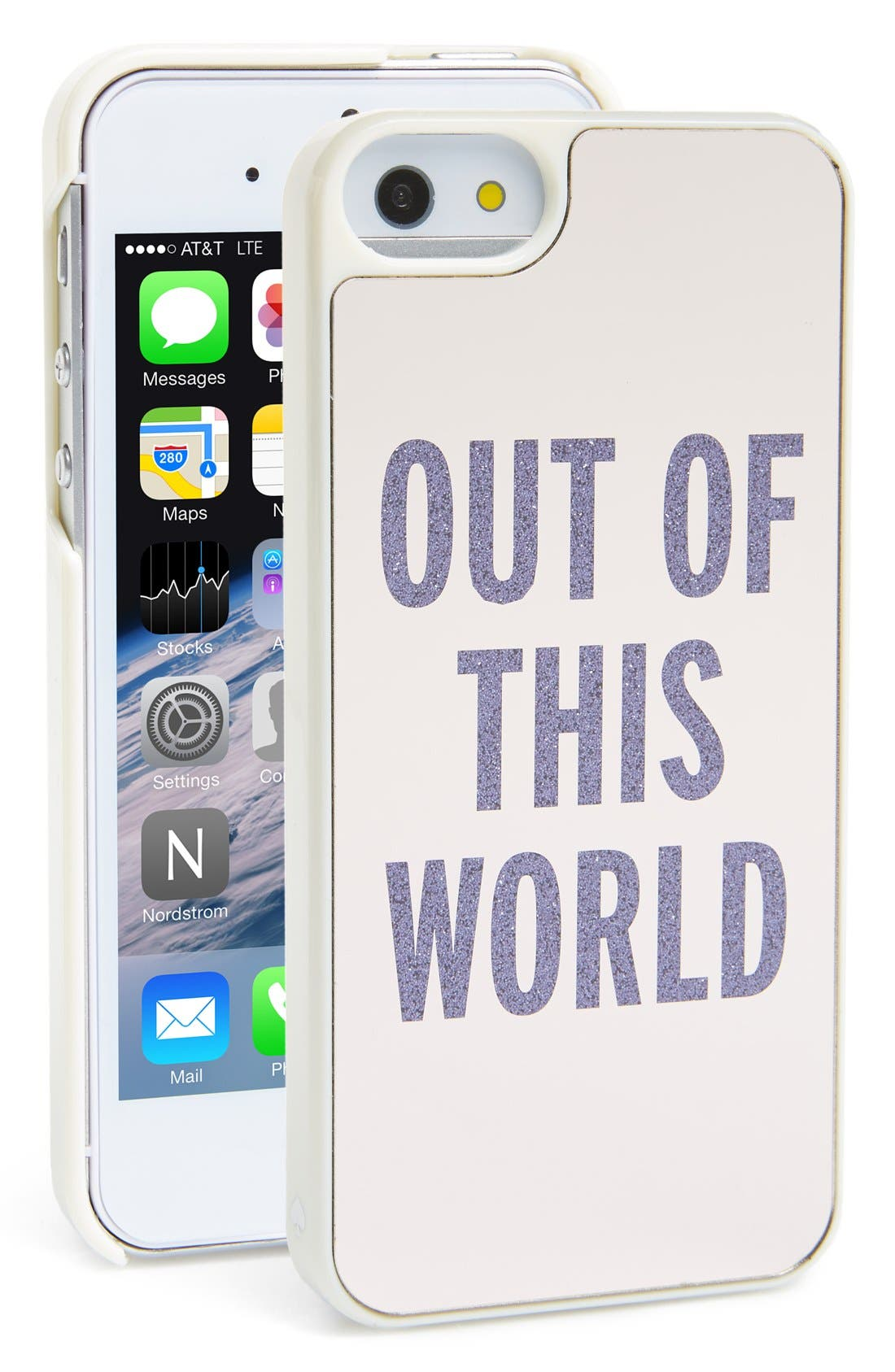 Alternate Image 1 Selected - kate spade new york 'out of this world' iPhone 5 & 5s case