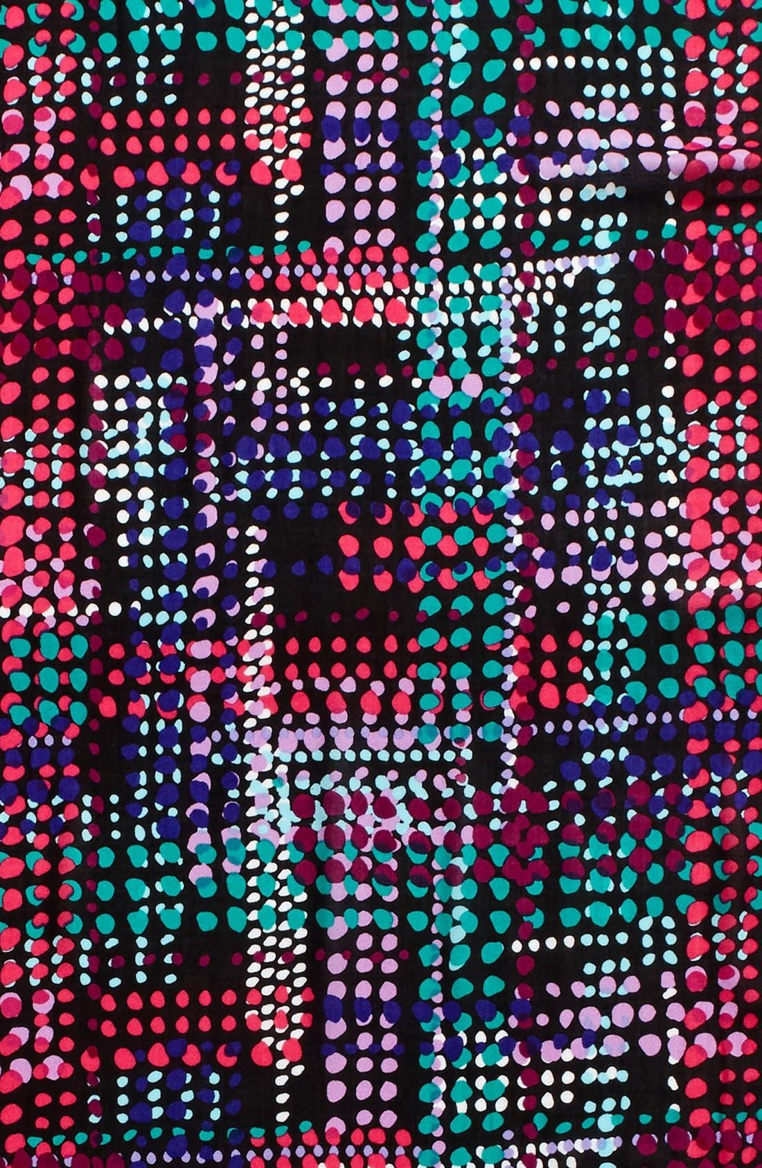 Alternate Image 3  - kate spade new york dotty oblong scarf