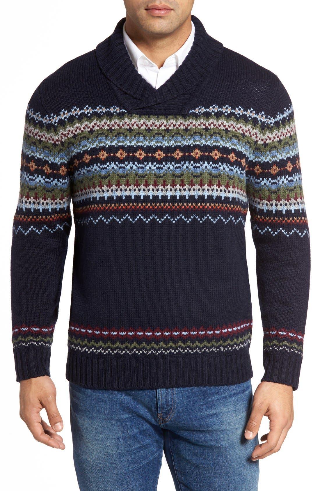 Tommy Bahama Fair Isle Sweater