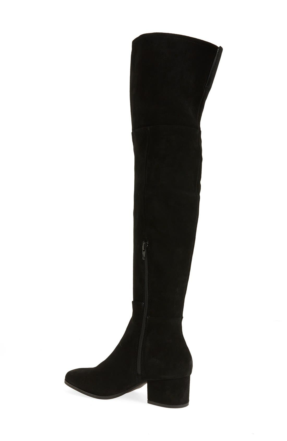 Alternate Image 2  - Steven by Steve Madden Phaser Over the Knee Boot (Women)