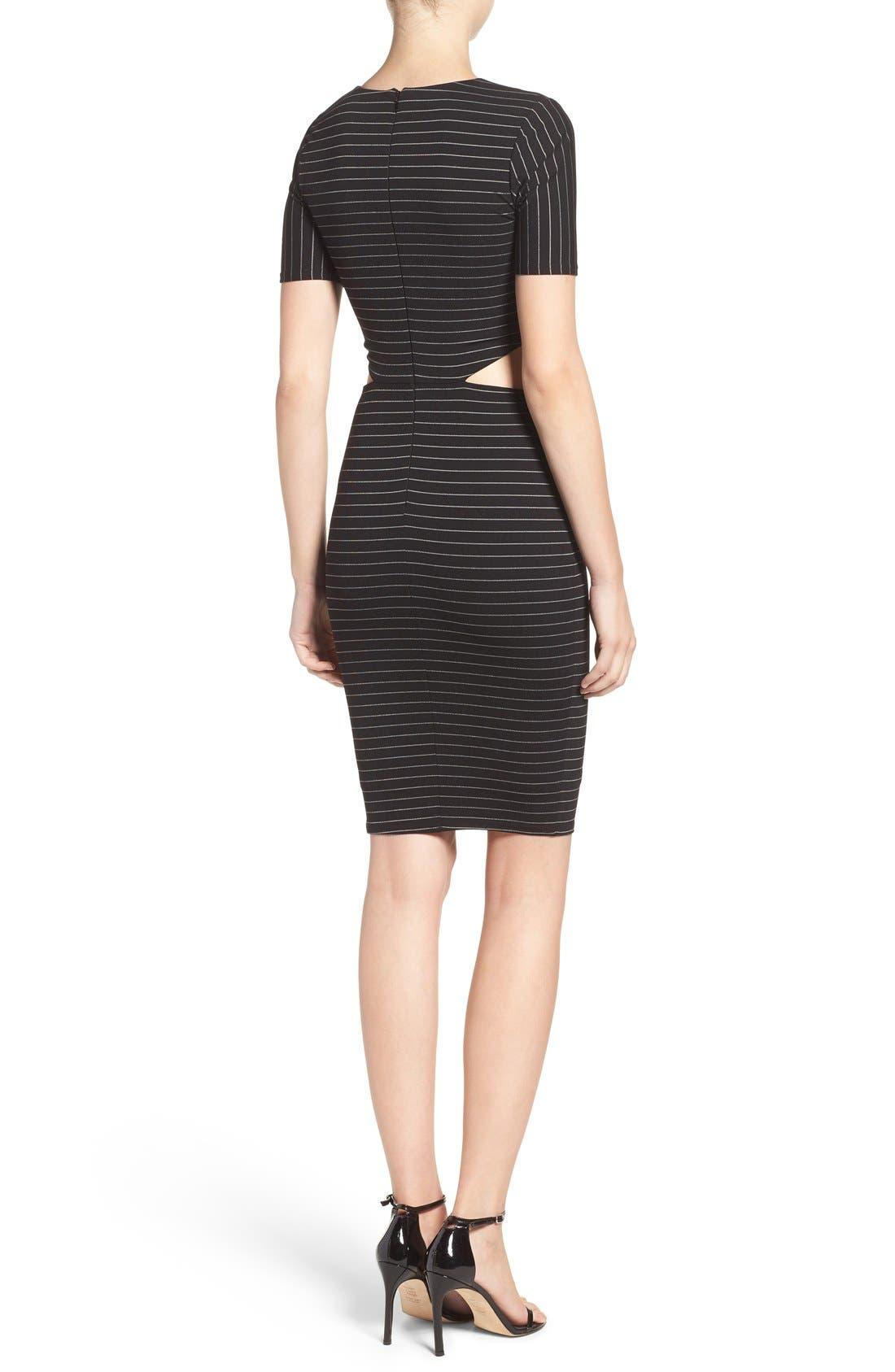 Alternate Image 3  - Ali & Jay Cutout Body-Con Dress