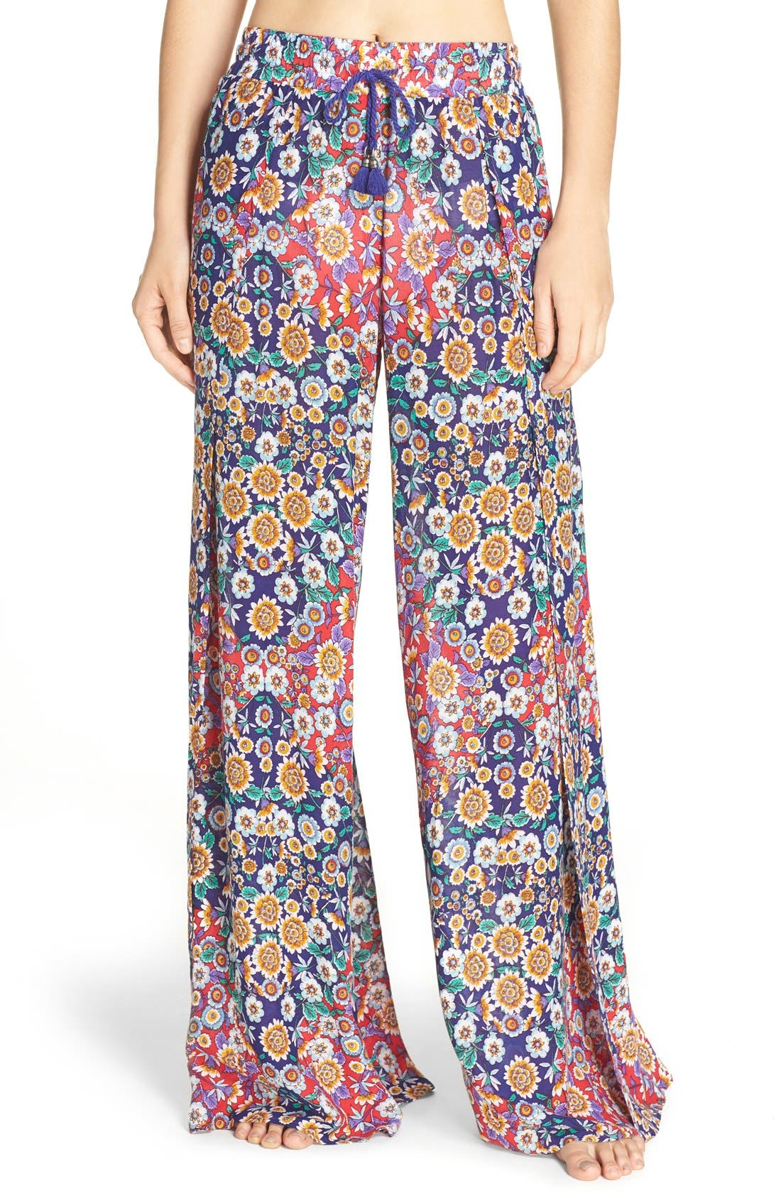 Nanette Lepore Desert Diamond Wrap Cover-Up Pants