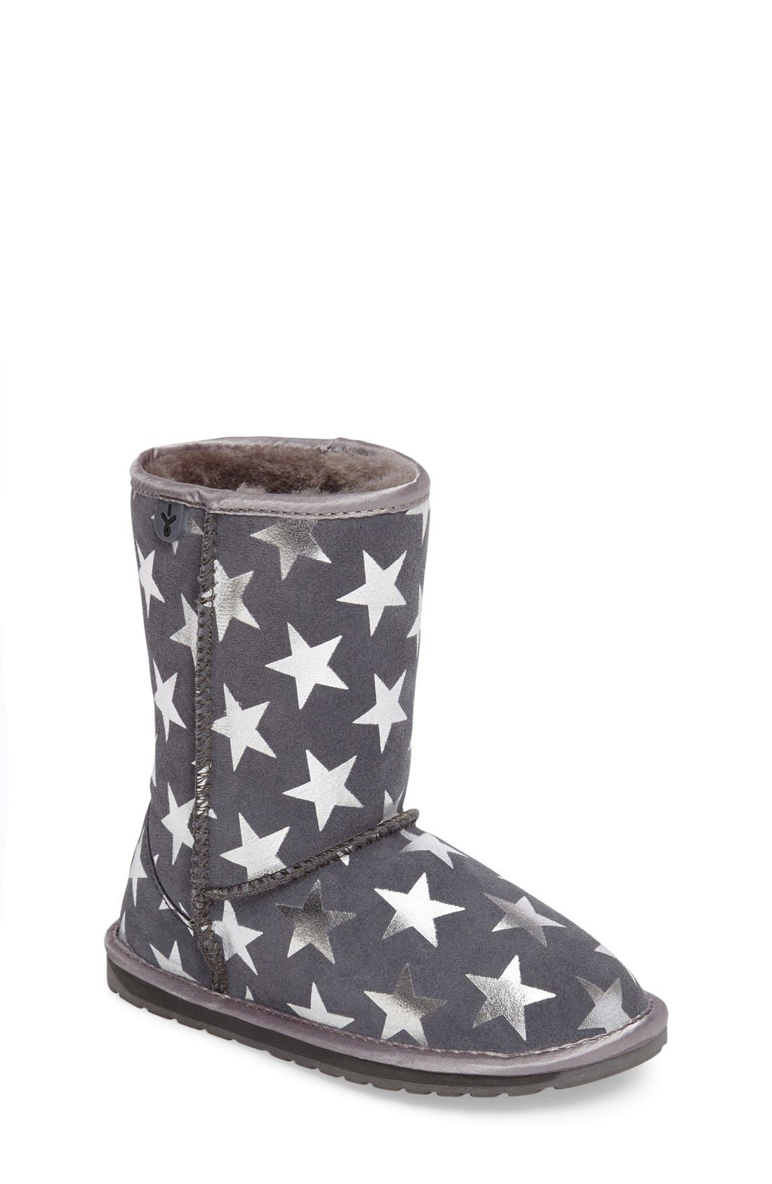 EMU Australia 'Starry Night' Boot (Toddler, Little Kid & Big Kid)