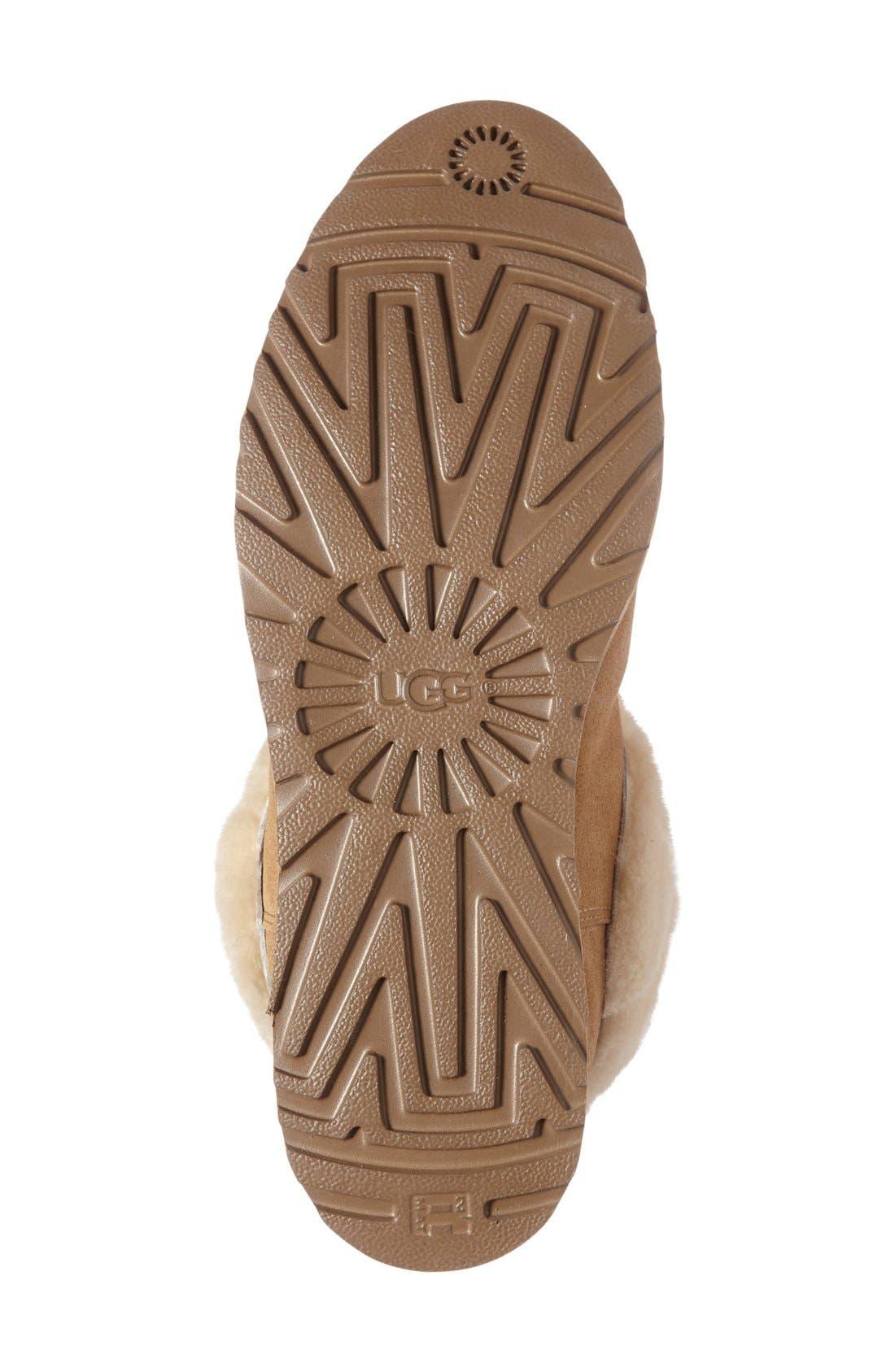 Alternate Image 4  - UGG® Ariella Luxe Diamond Genuine Shearling Boot (Women)