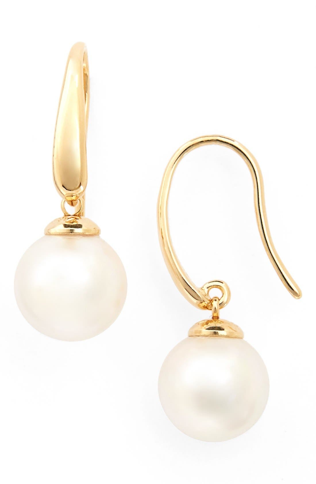 Alternate Image 1 Selected - Majorica 10mm Pearl Drop Earrings