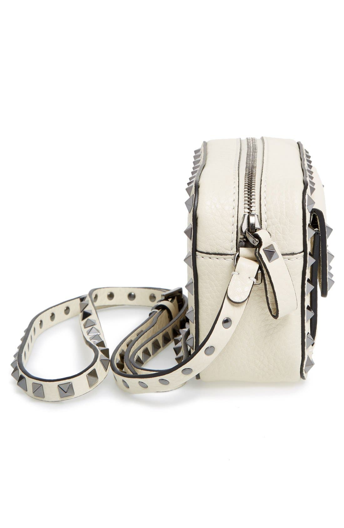 Alternate Image 4  - Valentino Rockstud Mini Camera Crossbody Bag